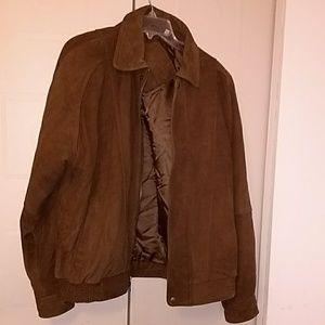 Roundtree & Yorke Jackets & Coats - Roundtree Yorke leather jacket & a gift